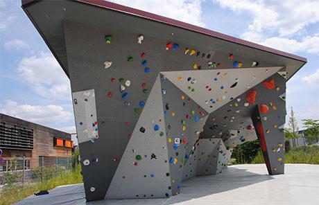 Boulderanlage Outdoor DAV Erlangen - Bild: D. Schagen